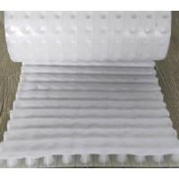 PED14高分子防护排蓄水异型片自粘土工布价格直营