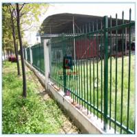淄博电厂围墙栏杆 电厂围墙围栏 拼装式免焊接锌钢护栏